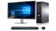"""Buy 22-Inch Dell Optiplex Desktop 755 Core 2 Duo with 160GB Hard Drive for just £199.00 Tup-up your tech with the 22"""" Dell Optiplex Desktop 755 Core 2 Duo      The 22"""" monitor desktop is great for watching films and playing games      Boasts a 160GB Hard drive and 4GB RAM      Perfect for home or the office      Fully refurbished to a very high spec. (grade B refurb)      Comes with a 12..."""