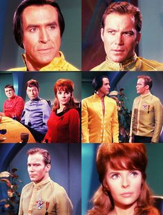 """Screenshots from the """"Star Trek: The Original Series"""" episode """"Space Seed"""" (1967)"""