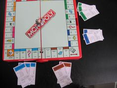 Deal out the properties according to the position of the player rather than using the usual method. If only two people play, each player has two sides of housing properties.