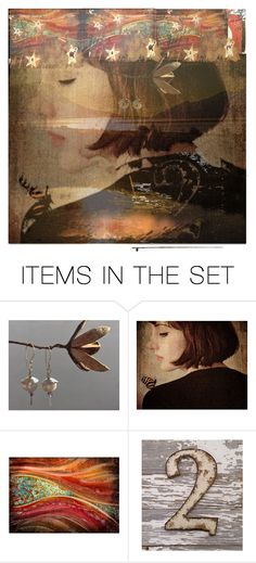 """""""Memory"""" by leotajane ❤ liked on Polyvore featuring art and temporallobe"""
