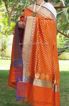 Gorgeous Woven Banarasi Silk Dupatta