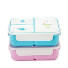 Children's eco-friendly lunch box with two compartments Lunch Box Containers, Food Grade, Eco Friendly, Packing, Kids, Bag Packaging, Young Children, Boys, Children