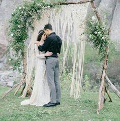 Wedding Bohemian Makrame