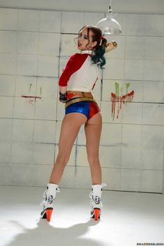 Riley Reid As Harley Quinn