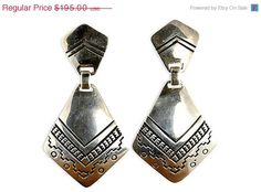 35% OF SALE Leonard Gene Navajo Earrings