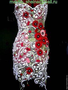 motifli örgü elbise modelleri