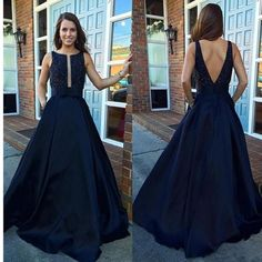 Elastic Satin Concise Long Party Gowns Spaghetti Straps Deep V neck Hot Evening Dresses