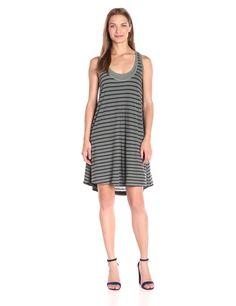 Splendid Women's Sequoia Yarn-Dye Stripe Dress
