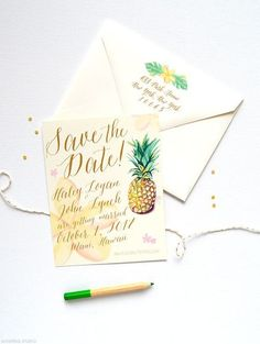 Planning to tie the knot somewhere in a tropical location? Save the dates and invitations are to be sent beforehand, and I'm sure ...