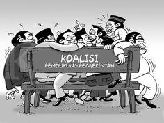 Kartun Benny, Februari 2016: Sesak Koalisi Pendukung Pemerintah