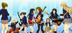Safebooru is a anime and manga picture search engine, images are being updated hourly. Brown Hair, Black Hair, K On Anime, Manga Pictures, Yui, School Uniform, Original Image, Hair Band, Drums