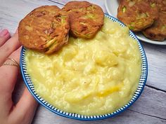 Almafőzelék Risotto, Mashed Potatoes, Vegan Recipes, Gluten, Healthy, Ethnic Recipes, Food, Recipies, Whipped Potatoes