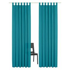 Vorhang, Home affaire Collection, »Parry«, mit Schlaufen (2 Stück) Aqua, Curtains, Shower, Design, Home Decor, Products, Sheer Curtains, Interesting Facts, Nice Asses