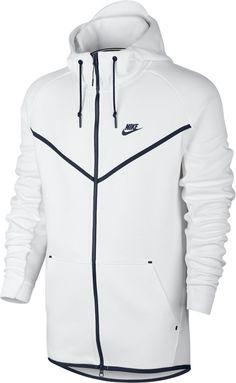 Nike Men s Tech Fleece Windrunner Hero Full Zip Jacket sz XL (727340-100)  White a4679e055