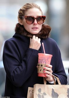 Olivia Palermo on spring trends: 'There are also these gorgeous lucite accessories that seem to be cropping up in many of the collections. By being both ornate and yet so au...