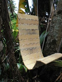 How-To: Laced Paracord Hanging Chair @Craftzine.com blog