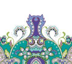 Border Pattern, Pattern Art, Motif Design, Textile Design, Boarder Designs, Textile Patterns, Geometric Art, Baroque, Digital Prints