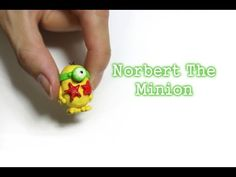 Tutorial: Norbert The Minion Magnet Starfish - Polymer Clay - YouTube
