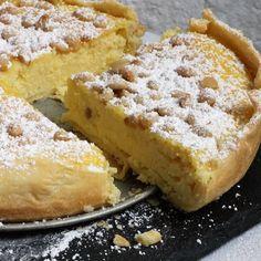 Torta della nonna à la ricotta et au citron