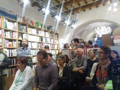Libreria Aleph @ Castelfidardo -giugno 2016. Presentazione de Lo specchio dell'uomo