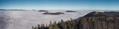 """Above the clouds / Part III by Florian Bartonek. This panoramic shot was taken at the """"Hohe Wand"""" - located in Austria - on a foggy winter day. ________________________________________________ Follow my latest projects: florian-bartonek-photography.jimdo.com/ Follow me on 500px : http://ift.tt/1XGgbze Follow me on National Geographic: http://ift.tt/1MyokEb"""