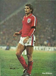 Ray Wilkins of England in 1978.