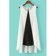 USD11.49Fashion O Neck Tank Sleeveless A Line  Polyester Mini Dress