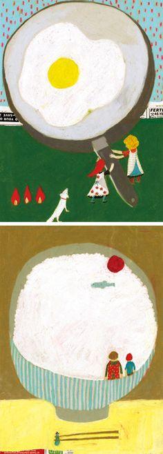 Egg and Gohan for the hungy - Keiko Shibata