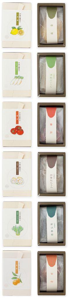 Mitsugashi NAKAGAWA - simple, suttle packaging design. ... for dry foods?