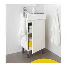 LILLÅNGEN Mobile per lavabo con 1 anta - bianco - IKEA