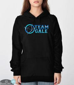 Hunger Games Hoodie | Geek Hoodie with Team Gale design. Adult and Unisex Sweatshirt sizes available. (pictured: black hoodie)