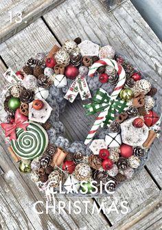 Outdoor Christmas, Winter Christmas, Christmas Home, Christmas Crafts, Xmas, Christmas Advent Wreath, Handmade Christmas Decorations, Holiday Decor, Christmas Traditions