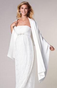 7dd14ef2813 Silk Bridal Wrap. Wedding Dresses Pregnant BridesWedding GownsWedding Dress  StylesTiffany RoseMaternity ...