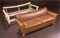 Sofa frame with finished product. http://www.broadwayfurniture.net/furnitureportland/wp-content/uploads/2010/05/sofa-frame.jpg