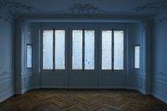 """""""Blaue Stunde Raum"""", Katinka Bock, 2011 - Rosascape, Paris"""