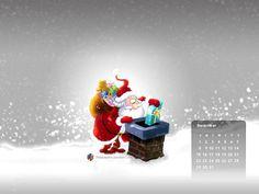 Blog | December 2013 Calendar Wallpaper | Little Dinos