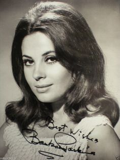 "SIGNED AUTHENTIC PHOTO BARBARA PARKINS-PLAYED 'BETTY ANDERSON' ON ""PEYTON PLACE"""