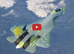Video: Amazing T-50 Russia's 5th Generation Stealth Fighter
