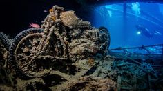 Divers share their most mesmerising shots of the lost ships and aircraft that rest on the ocean floor