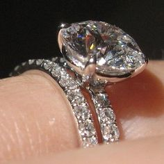What a gorgeous Pave Diamond Engagement Ring