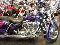 Purple/Silver 2002 Harley-Davidson Screaming Eagle Road King
