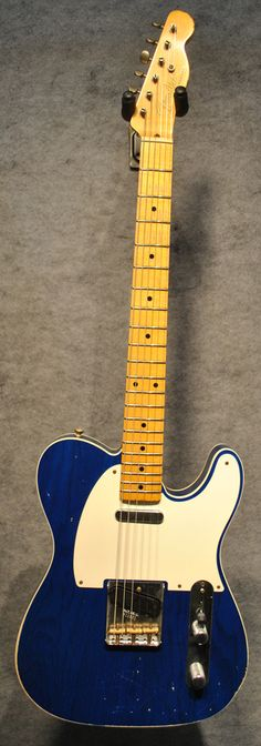 Fender Custom Shop 50's Mary T. Custom Telecaster in Sapphire Blue Relic Finish
