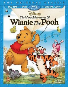 The Many Adventures of Winnie the Pooh 3-Disc set – reduced to $24.96 from $36.99