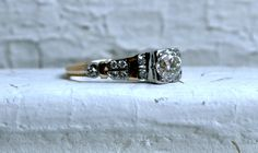My most favorite lovely vintage wedding ring!