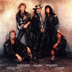 "Scorpions  known for their 1980s rock anthem ""Rock You Like a Hurricane"" and many singles, such as ""No One Like You"", ""Send Me an Angel"", ""Still Loving You"", and ""Wind of Change"". The band was ranked No. 46 on VH1's Greatest Artists of Hard Rock program.[9] ""Rock You Like a Hurricane"" is also No. 18 on VH1's list of the 100 Greatest Hard Rock Songs.[10]"