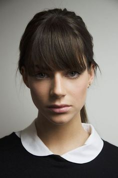 Those bangs are perfect!