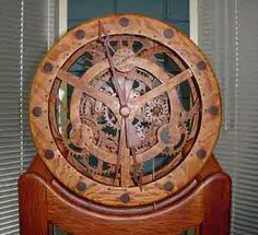 Wooden Gear Clock Plans Free Download Woodworking Projects Plans