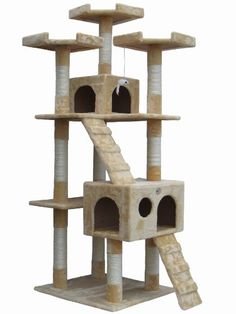 Just look at this awesome cat condo I found from www.coolcattreeplans.com!