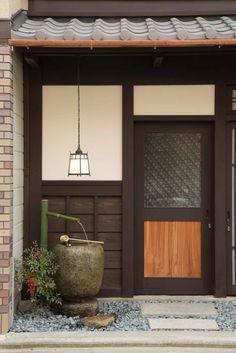Le plus à jour Instantanés Style Architectural japonais Suggestions Japanese Modern House, Japanese Minimalism, Traditional Japanese House, Japanese Interior Design, Japanese Design, Japanese Homes, Kyoto, Japanese Buildings, Bedroom Minimalist