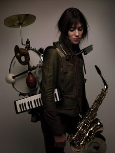 """Charlotte Lucy Gainsbourg. Born July 21,1971. Anglo-French actress, singer, songwriter.  She was hysterical in the 2006 film, """"The Science of Sleep.""""  I find her music seductively enchanting."""